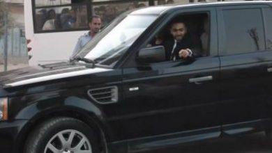 صورة تامر حسنى يمتلك اسطول سيارات