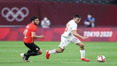 صورة منتخب مصر الاوليمبى يتعادل مع اسبانيا